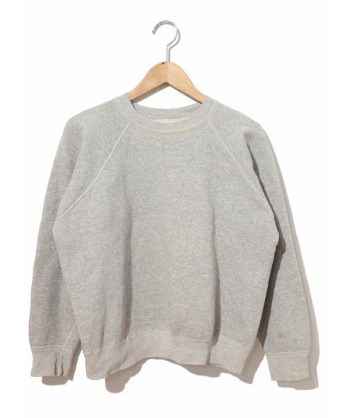 SPRUCE(スプルース)SPRUCE (スプルース) [古着]ヴィンテージスウェット グレー サイズ:L 60's・無地の古着・服飾アイテム