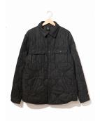 OCTOBERS VERY OWN(オクトーバーズ ベリー オウン)の古着「デニムキルトシャツジャケット」|ブラック