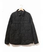 OCTOBERS VERY OWN(オクトーバーズ ベリー オウン)の古着「デニムキルトシャツジャケット」 ブラック