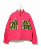 NIKE ACG(ナイキエーシージー)の古着「フリースジャケット」|ピンク