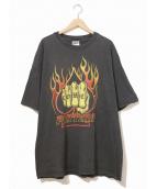 バンドTシャツ(バンドTシャツ)の古着「[古着]90'sPANTERAバンドTシャツ」|ブラック