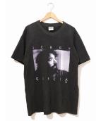バンドTシャツ(バンドTシャツ)の古着「[古着]90's JERRY GARCIA Tシャツ」|ブラック