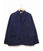 VINTAGE(ヴィンテージ)の古着「[古着]ブリティッシュワークジャケット」|ネイビー