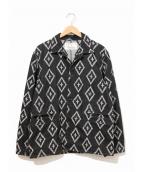 BLACK SIGN(ブラックサイン)の古着「シャイアンクロスデルタジャケット」|ブラック