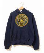 US NAVY(ユーエスネイビー)の古着「[古着]パーカー」|ネイビー