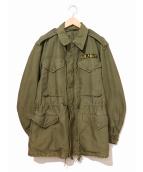VINTAGE MILITARY(ヴィンテージ ミリタリー/ビンテージ ミリタリー)の古着「[古着]M-51ミリタリーフィールドジャケット」|カーキ