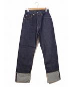 LEVIS VINTAGE CLOTHING(リーバイス ヴィンテージ クロージング)の古着「復刻701デニムパンツ」|インディゴ