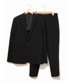 LAD MUSICIAN(ラッドミュージシャン)の古着「セットアップスーツ」|ブラック