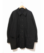 COMME des GARCONS HOMME(コムデギャルソンオム)の古着「[OLD]80's3ポケットジャケット」 ブラック