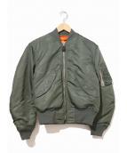 VINTAGE MILITARY(ヴィンテージ ミリタリー)の古着「[古着]L-2Bジャケット」|カーキ