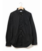 Sans limite(サンリミット)の古着「フリーダムスリーブBDシャツ」|ブラック