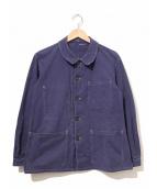 le pionnier(ル ピオニエ)の古着「[古着]ヴィンテージユーロワークジャケット」|ネイビー
