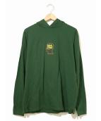 BRAIN DEAD(ブレインデッド)の古着「パーカー」|グリーン