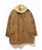 VINTAGE(ヴィンテージ/ビンテージ)の古着「[古着]ヴィンテージカーコート」|ブラウン