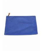 HERMES(エルメス)の古着「フラットヨッティングGM」|ブルー