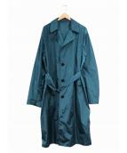 DRIES VAN NOTEN(ドリスバンノッテン)の古着「ライトカラーチェスターコート」|ブルー