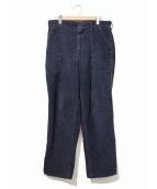 SWEET-ORR(スイートオール)の古着「[古着]ヴィンテージコーデュロイパンツ」|ネイビー