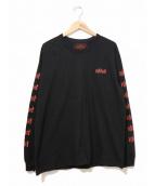 NEIGHBORHOOD(ネイバーフッド)の古着「長袖Tシャツ / ロングスリーブカットソー」|ブラック