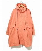 POLO COUNTRY(ポロカントリー)の古着「[古着]90'sモッズコート」 オレンジ