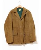 SWEET ORR(スイートオール)の古着「[古着]ヴィンテージノーフォークジャケット」|ブラウン