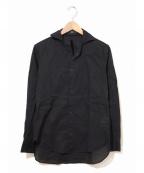 Y's YOHJI YAMAMOTO(ワイズ ヨウジヤマモト)の古着「[OLD]オープンカラーシャツ」 ブラック