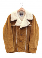 ()の古着「[古着]ボアコーデュロイジャケット」 ブラウン