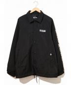 EXAMPLE(イグザンプル)の古着「中綿コーチジャケット」 ブラック