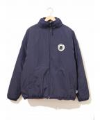 EXAMPLE(イグザンプル)の古着「リバーシブルボアフリースジャケット」 ベージュ