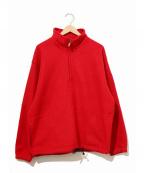 GAP(ギャップ)の古着「 [古着]90'sフリースジャケット」|レッド