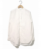 08sircus(ゼロエイトサーカス)の古着「スーピマコットンブロードピンタックシャツ」 ホワイト