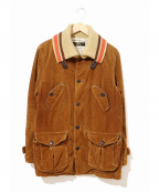 TMT(ティーエムティー)の古着「コーデュロイドンキージャケット」|ブラウン