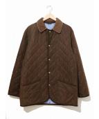 MACKINTOSH(マッキントッシュ)の古着「キルティングジャケット」 ブラウン