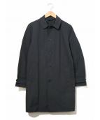 ASPESI(アスペジ)の古着「ステンカラーコート」|ネイビー