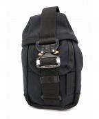 BAGJACK(バッグジャック)の古着「コブラバックルハンターポーチ」 ブラック