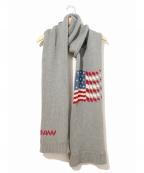 DAIRIKU(ダイリク)の古着「America Muffler / アメリカマフラー」 グレー