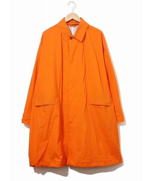 DESCENTE PAUSE(デサントポーズ)DESCENTE PAUSE (デサントポーズ) OVER COAT / オーバーコート オレンジ サイズ:Mの古着・服飾アイテム