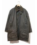 Barbour(バブアー)の古着「[古着]オイルドジャケット / コート」|グレー