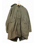 VINTAGE MILITARY(ヴィンテージ ミリタリー)の古着「[古着]M-1951ミリタリーモッズコート」|カーキ