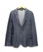 EPOCA UOMO(エポカウォモ)の古着「サマーテーラードジャケット」|インディゴ