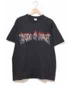 バンドTシャツ(バンドTシャツ)の古着「[古着]Cradle of Filth バンドTシャツ」|ブラック