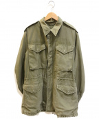 VINTAGE MILITARY(ヴィンテージ ミリタリー)の古着「[古着]M-51フィールドジャケット」 カーキ