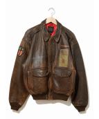 AVIREX(アヴィレックス)の古着「[古着]80'sA-2フライトジャケット」|ブラウン