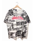 ()の古着「[古着]コラージュフォトプリントTシャツ」|ブラック