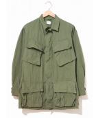 ()の古着「[古着]60s・3rdジャングルファティーグジャケット」|カーキ