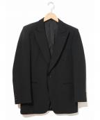 Christian Dior MONSIEUR(クリスチャンディオールムッシュ)の古着「[OLD]1Bテーラードジャケット」|ブラック