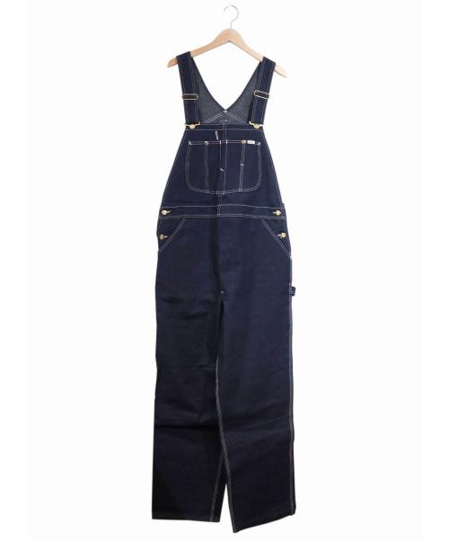 LEE(リー)LEE (リー) [古着]ヴィンテージデニムオーバーオール インディゴ サイズ:40×34 未使用品 80's・フラッシャー付デッドストック・USA製の古着・服飾アイテム