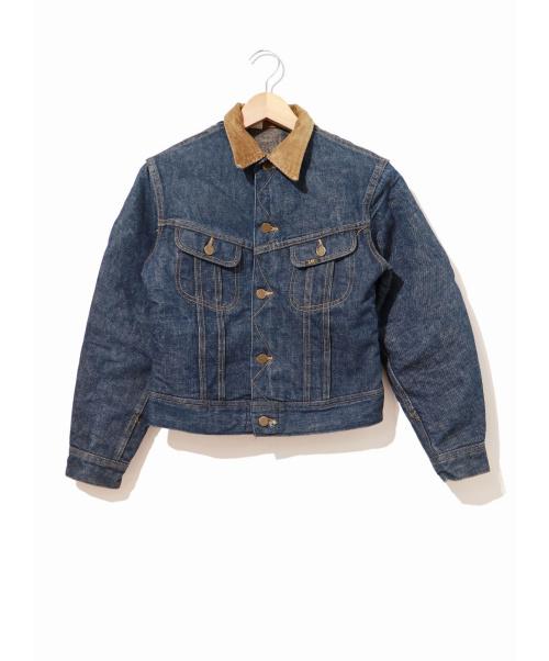 LEE(リー)LEE (リー) [古着]ヴィンテージブランケットデニムジャケット インディゴ サイズ:表記なし STORM RIDER・USA製・濃紺・70~80'sの古着・服飾アイテム