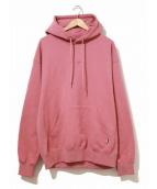 EXAMPLE(イグザンプル)の古着「プルオーバーパーカー」|ピンク