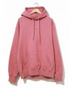 EXAMPLE(イグザンプル)の古着「プルオーバーパーカー」 ピンク