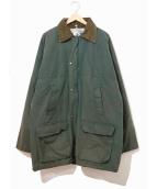 ()の古着「[古着]ヴィンテージオイルドジャケット」|セージグリーン